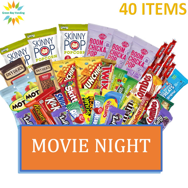 Movie Night Snack Box-shipped