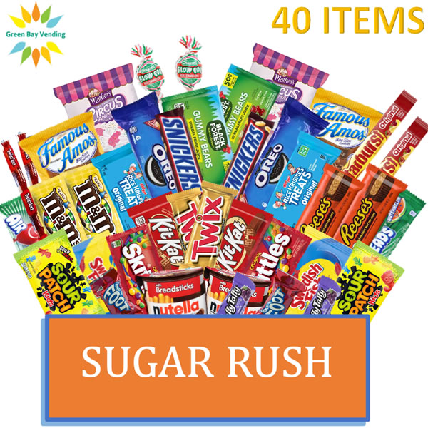 Sugar Rush Snack Box-shipped